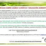 Jornada Cambio Climático Educación Ambiental Políticos