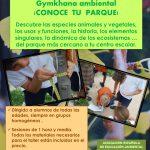 Gymkhana ambiental !Conoce tu parque¡