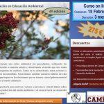 """Curso online """"Certificación en Educación Ambiental"""" febrero de 2016, 4ª edición"""