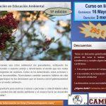 """Curso online """"Certificación en Educación Ambiental"""" Mayo 2016, 5ª edición"""