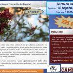 """Curso online """"Certificación en Educación Ambiental"""" Septiembre 2016, 6ª edición"""