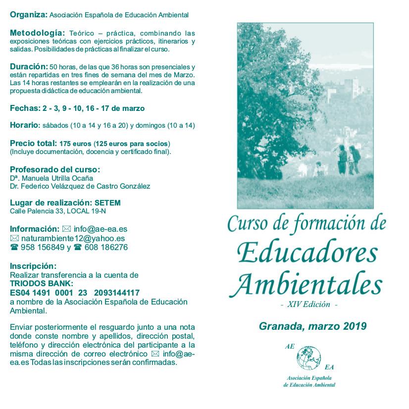 Diptico XIV Edicion - marzo 2019